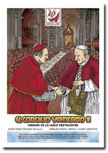 portada de un cómic cristiano de Francisco Cervantes y Raquel Bernal