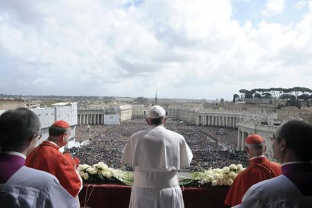 bendición Urbi et Orbi del papa Francisco 31 marzo 2013