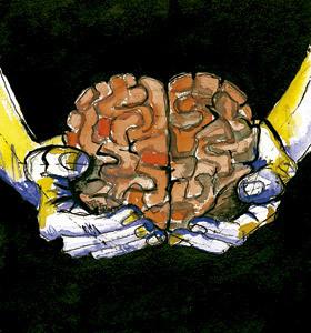 ilustración de Jaime Diz para artículo de Francesc Torralba Neurociencias y libertad humana n. 2856 julio 2013