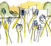 ilustración de Jaime Diz para artículo Obrigado JMJ 2859