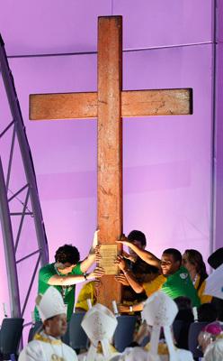 misa de inauguración de la JMJ Río 2013 23 julio