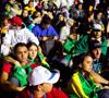 jóvenes participantes en la JMJ Río 2013 en la vigilia en Copacabana