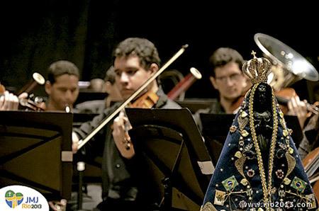 concierto músicos JMJ Río 2013