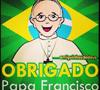 ilustración en redes sociales sobre el papa Francisco en la JMJ Río 2013