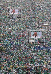 papa Francisco preside misa final de la JMJ Río 2013 playa Copacabana