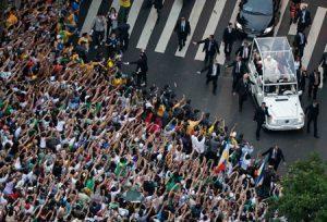 recorrido en jeep por las calles de Río de Janeiro