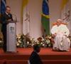 ceremonia de despedida del papa Francisco de Brasil 28 julio 2013