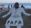 esculturas de arena en la playa de Copacabana JMJ Río 2013. Foto de Óscar Elizalde