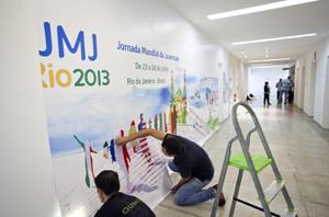 voluntarios ultiman detalles para la JMJ Río 2013