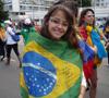 chica joven peregrina participante en la JMJ Río 2013