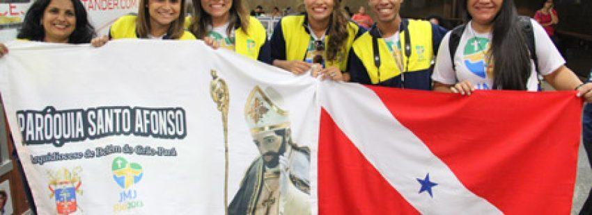 jóvenes peregrinos en la JMJ Río 2013