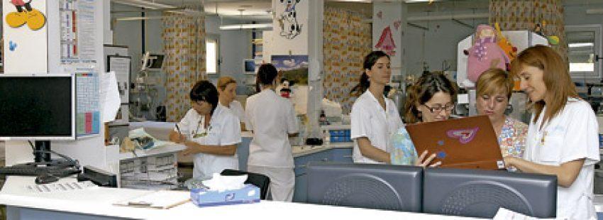 enfermeras en hospital de Orden de San Juan de Dios en Cataluña