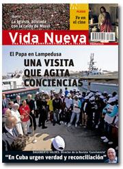 portada Vida Nueva Papa en Lampedusa 2856 julio 2013 p