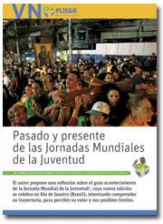 portadilla del Pliego Pasado y presente de las JMJ julio 2013 nº 2.858