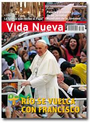 portada Vida Nueva papa Francisco en la JMJ Río 2013 p