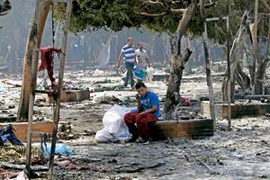 Ataque a una mezquita en Egipto (CMS)