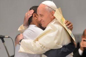 papa Francisco visita Hospital de San Francisco en la Providencia JMJ Río 2013