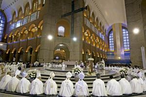 papa Francisco visita santuario de Aparecida JMJ Río 2013