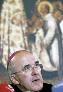 Carlos Osoro, arzobispo de Valencia y nuevo vicepresidente de la CEE