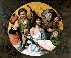 Cristo coronado de espinas, de El Bosco