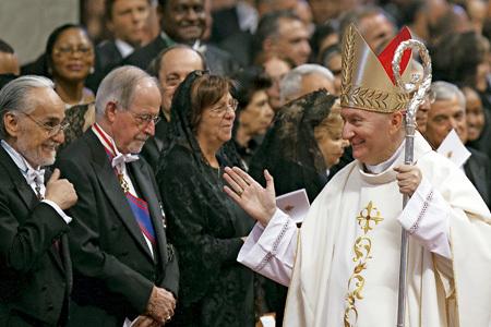 Pietro Parolin, nuevo secretario de Estado del Vaticano, el día de su ordenación como arzobispo