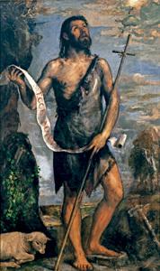 San Juan Bautista, de Tiziano