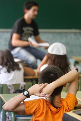 alumnos en la escuela