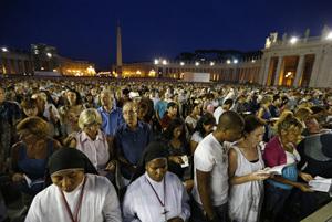 vigilia de oración por la paz en Siria en el Vaticano 7 septiembre 2013