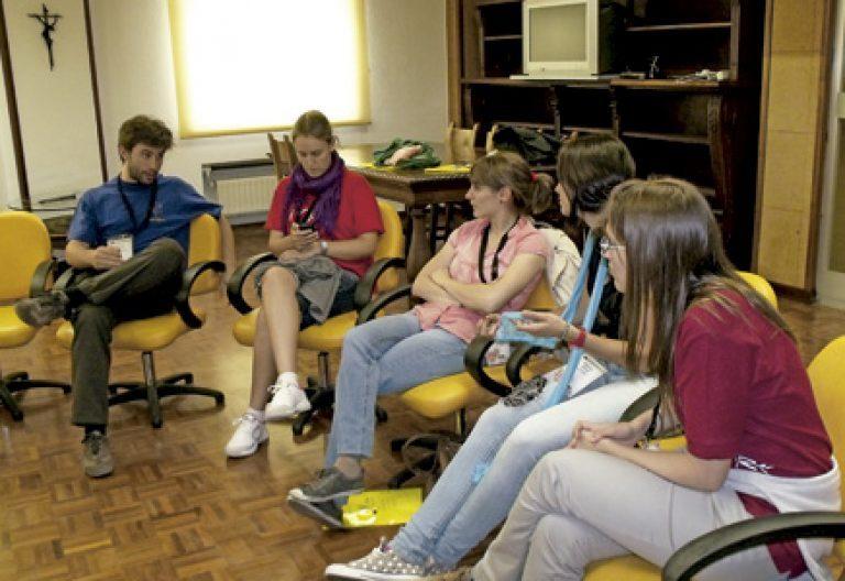 encuentro preparatorio de la Escuela de Pastoral con Jóvenes 2013