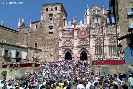Santuario de la Virgen de Guadalupe en Cáceres. Foto: Guadalupex