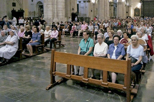 jornada de oración por Siria 7 septiembre 2013 en Valencia