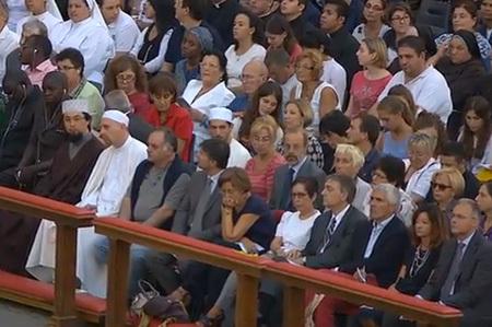 vigilia de oración por la paz en Siria en el Vaticano 7 septiembre 2013 líderes de otras religiones