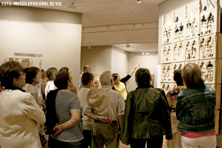 visita guiada en el Museo Diocesano de Vic