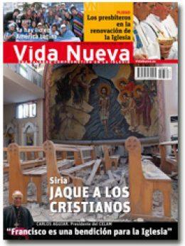 Portada Vida Nueva Siria, jaque a los cristianos, septiembre 2013 - pequeña