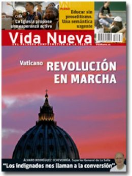 portada Vida Nueva Vaticano revolución en marcha septiembre 2013 pequeña