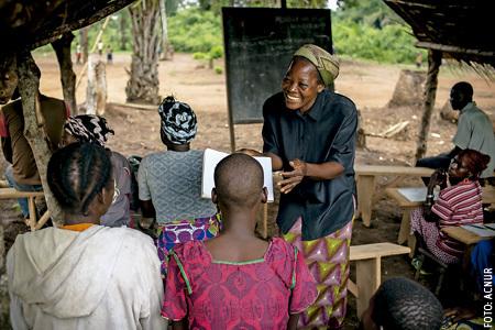 Angélique Namaika, religiosa RD Congo, Premio Nansen de Acnur por su labor con refugiadas