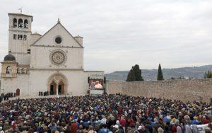 papa Francisco visita Asís, 4 octubre 2013