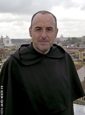 Fernando Millán, prior general de la Orden de los Carmelitas