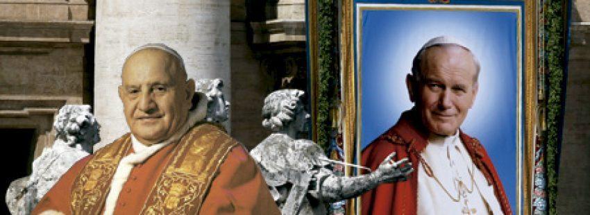 Juan XXIII y Juan Pablo II, papas canonizados en abril 2014