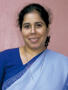 Julie George, directora de la organización Streevani en India
