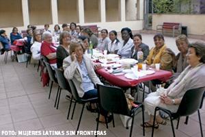 asociación Mujeres Latinas Sin Fronteras, vinculada a los franciscanos conventuales de Barcelona