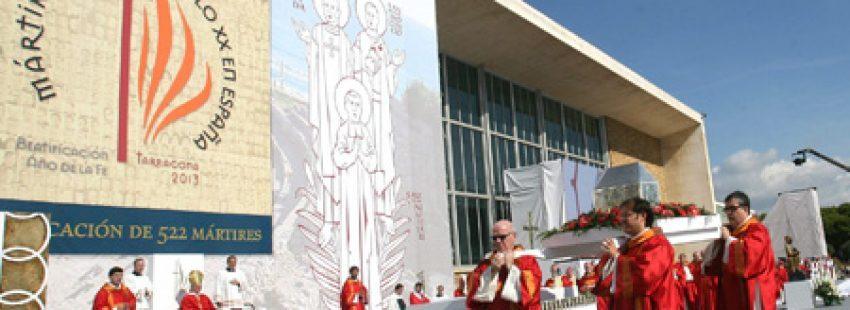Tarragona beatificación de 522 mártires 13 octubre 2013