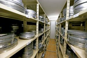 cintas de películas propiedad del Centro Televisivo Vaticano