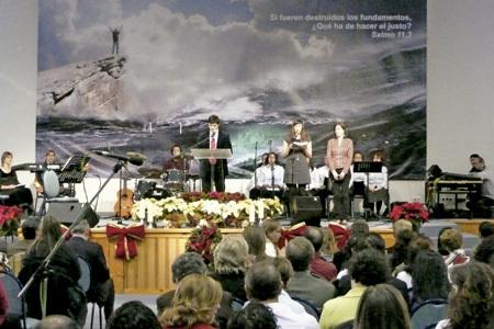 comunidad de evangélicos en España