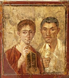 exposición en Madrid sobre los papiros de Herculano