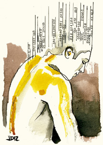 ilustración de Jaime Diz para el artículo de Antonio Spadaro 2868 La Red, ¿un recurso con sentido?