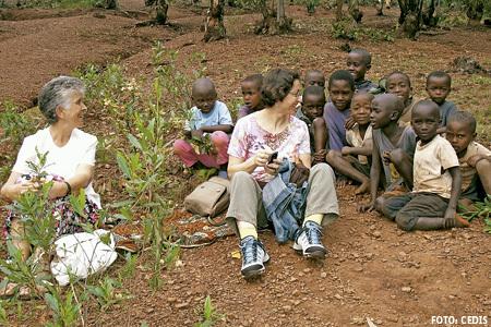 Labor pastoral  y asistencial en Ruanda, institutos seculares. Foto: CEDIS