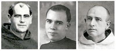 religiosos carmelitas descalzos, mártires beatificados en Tarragona octubre 2013