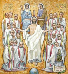 religiosos Hijos de la Sagrada Familia, mártires beatificados en Tarragona octubre 2013