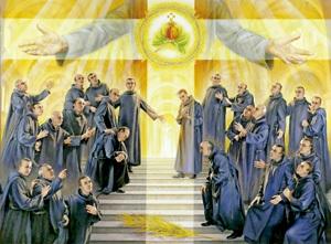 hermanos de San Juan de Dios mártires, beatificados en Tarragona octubre 2013